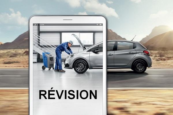 Révision de votre véhicule Peugeot
