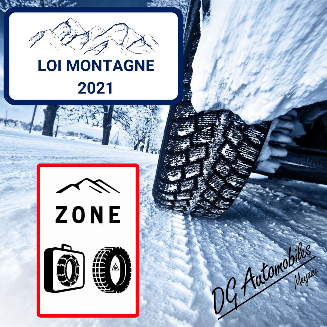 Loi Montagne 2021 - Posez vos Pneus Hiver chez DG Automobiles