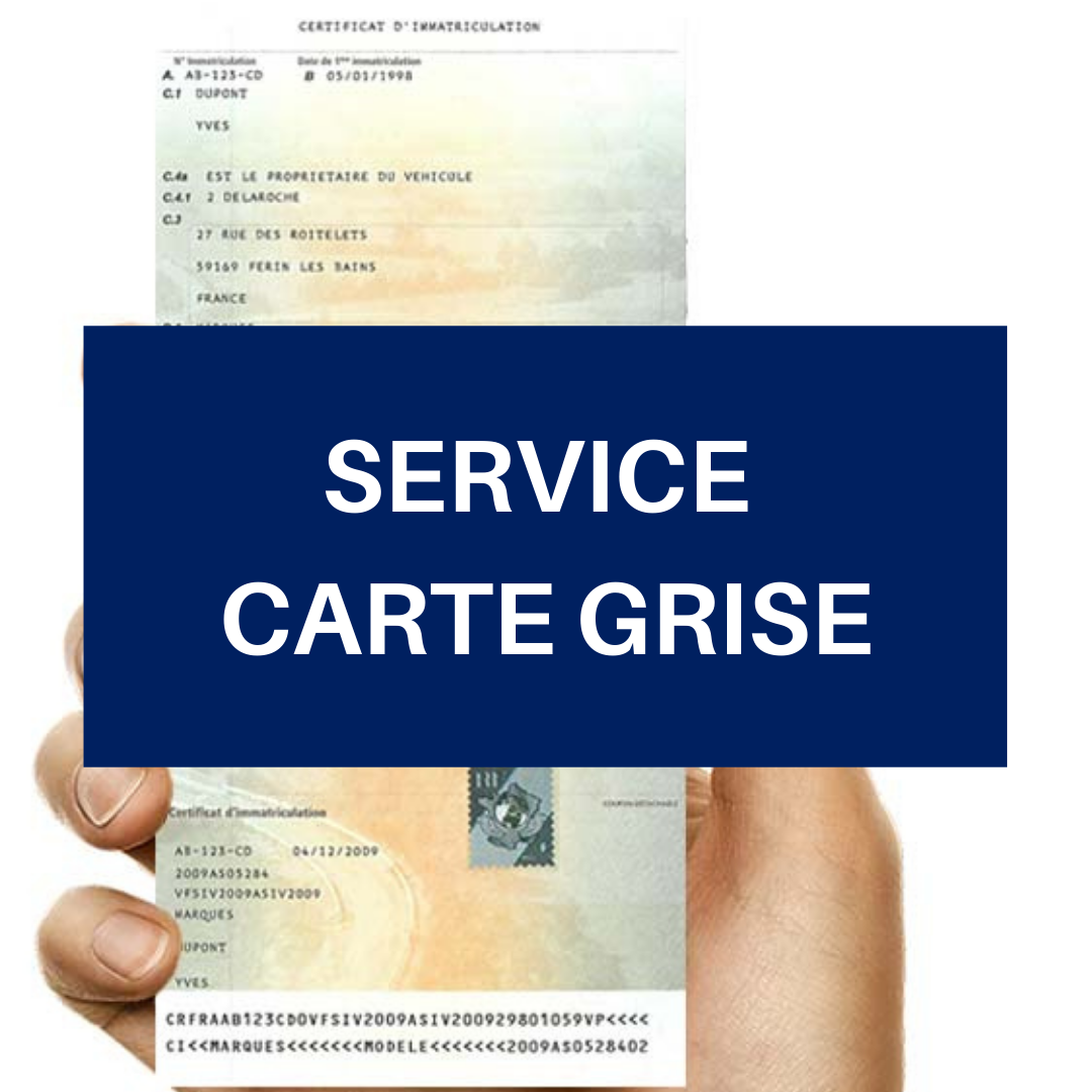Service Carte Grise